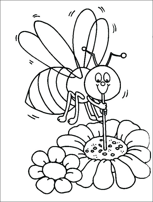 600x790 Beautiful Bee Coloring Page Best Of Bumblebee Pages Picture Bumble