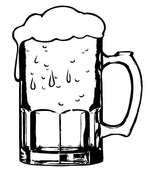 480x560 Drawn Beer Beer Tankard