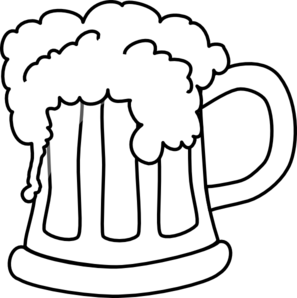 297x298 Clear Beer Pitcher Clip Art