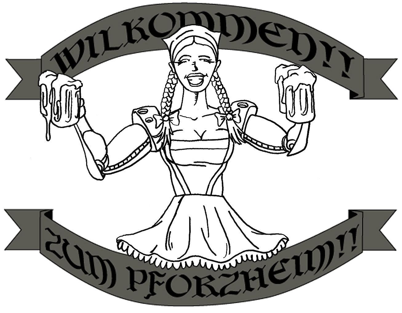 1307x1017 German Cyber Beer Girl By Taylordurden
