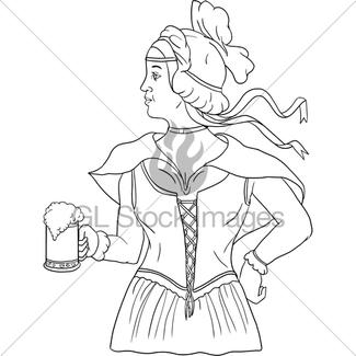 325x325 Beer Mug Drawing Gl Stock Images