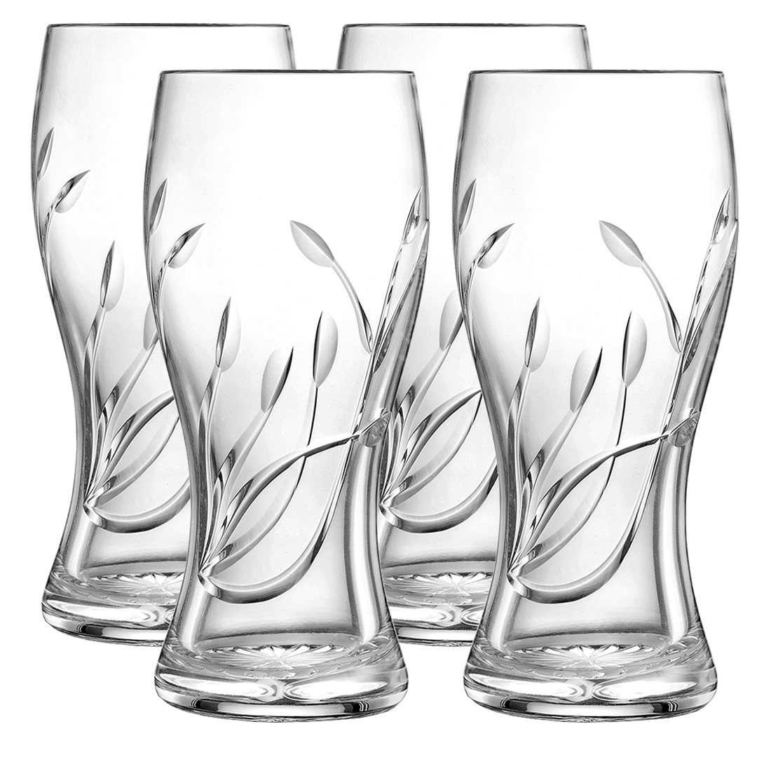 1100x1100 Set Of Four Beer Glasses