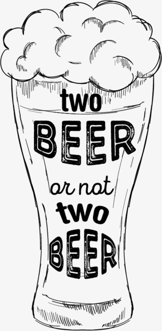 650x1324 Two Glasses Of Beer, Unlimited Drink, Drink To One's Content