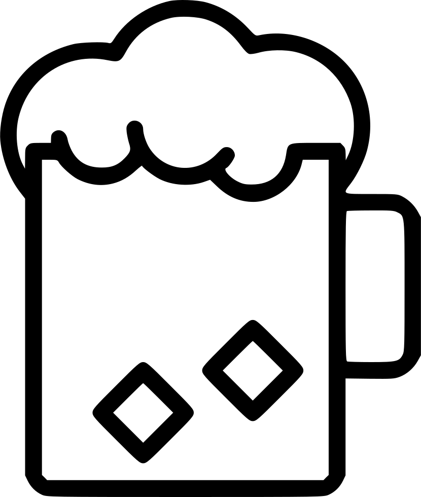 830x980 Beer Glass Cold Beverage Alcohol Svg Png Icon Free Download