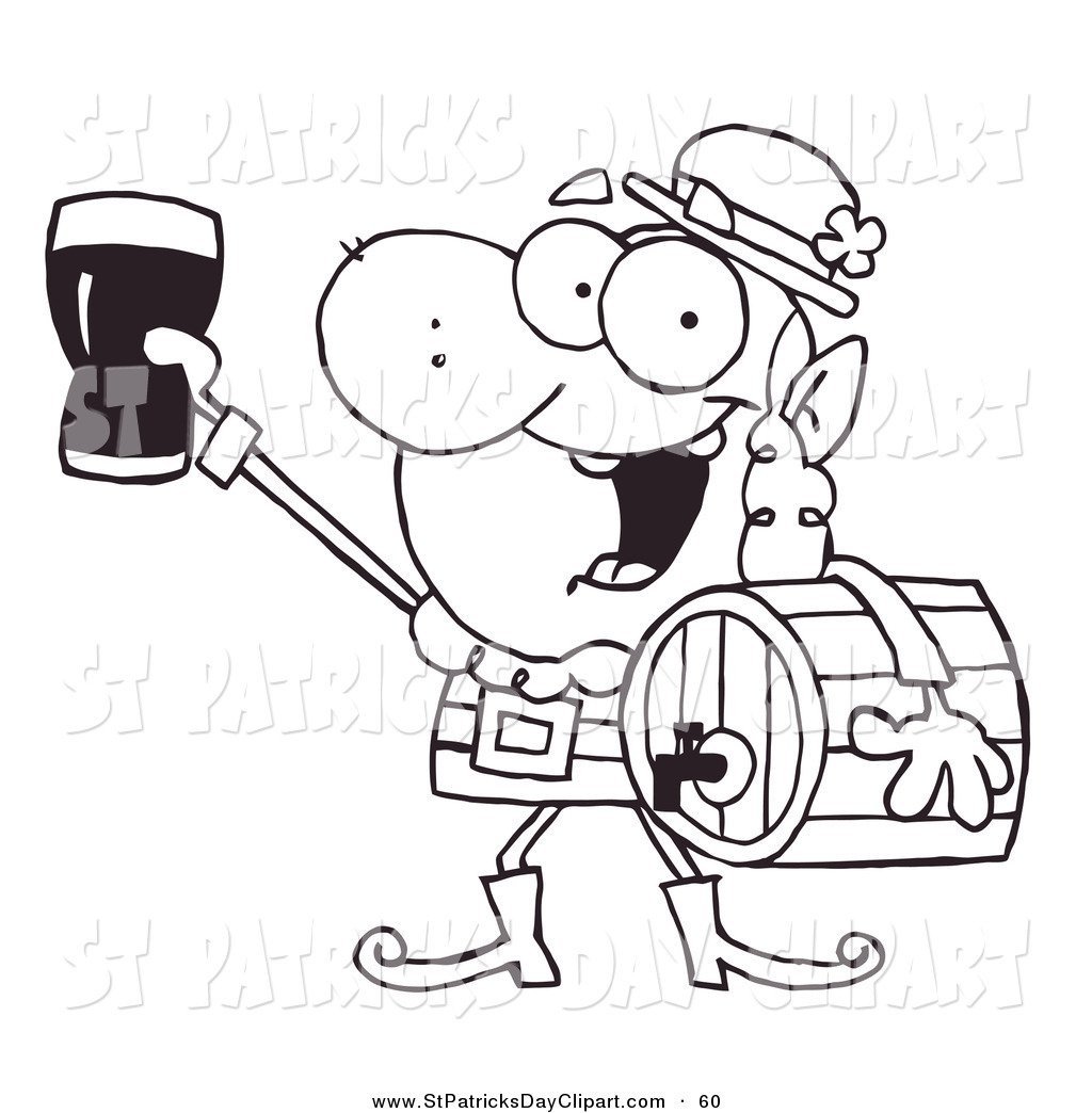 1024x1044 Royalty Free Stock St. Patrick's Day Designs Of Beers