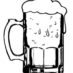 300x300 Two Funny Indonesian Beer Mug Coloring Pages Best Place To Color