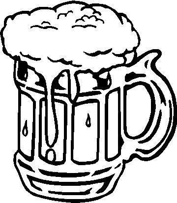 Beer Stein Drawing