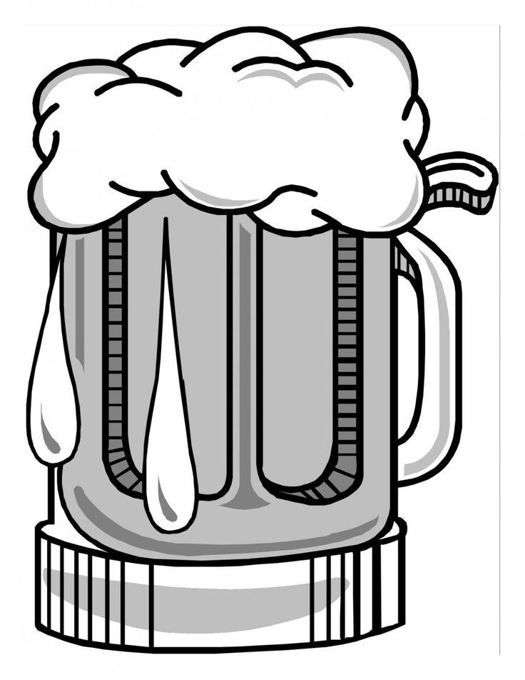 736x952 Beer Stein Clipart