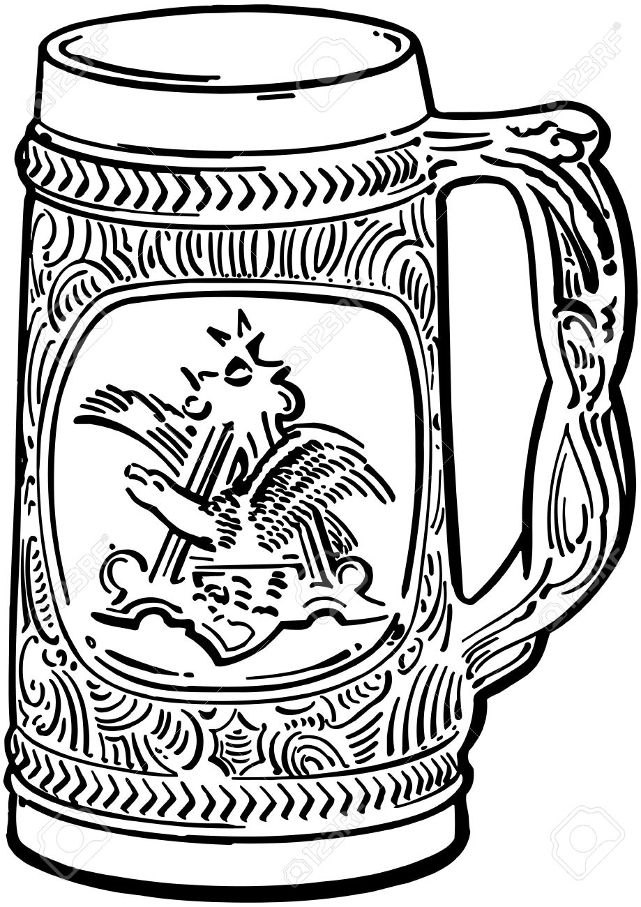 919x1300 Beer Stein Royalty Free Cliparts, Vectors, And Stock Illustration