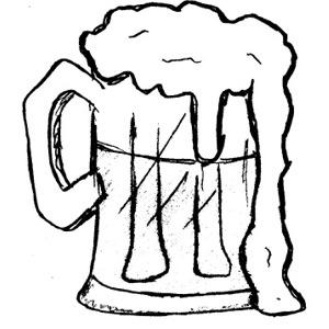 300x300 Beer Mug Clip Art Free Vector In Open Office Drawing Svg 3
