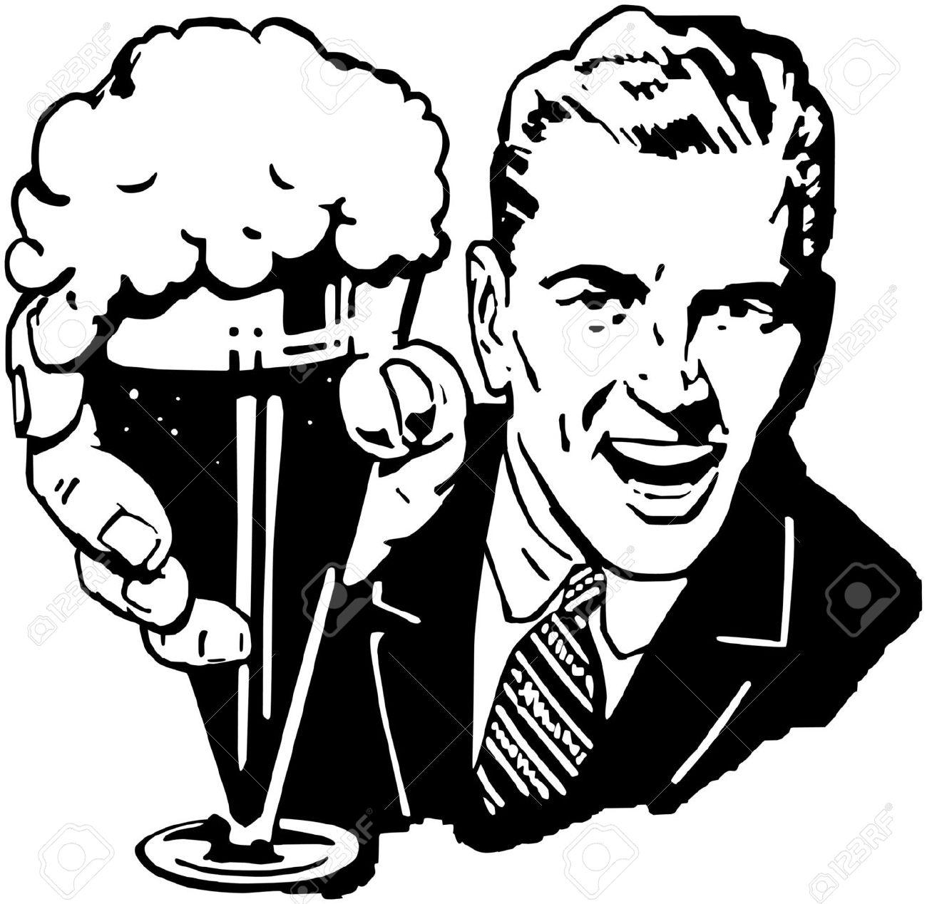 1300x1268 Drawn Beer Beer Cheer