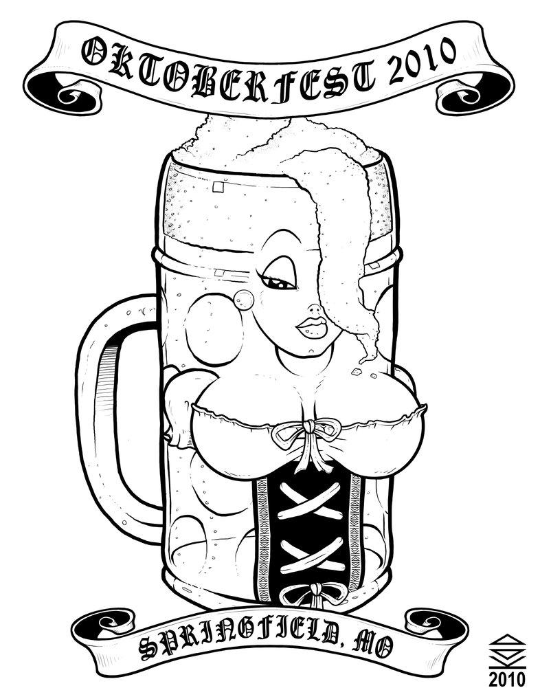 786x1017 Oktoberfest Beer Stein By Kdd121s