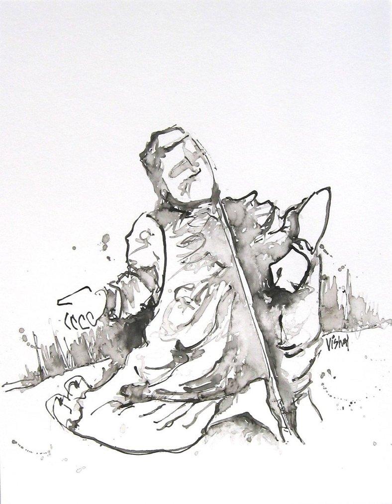 788x1013 A Beggar The Streets By Vishalmisra
