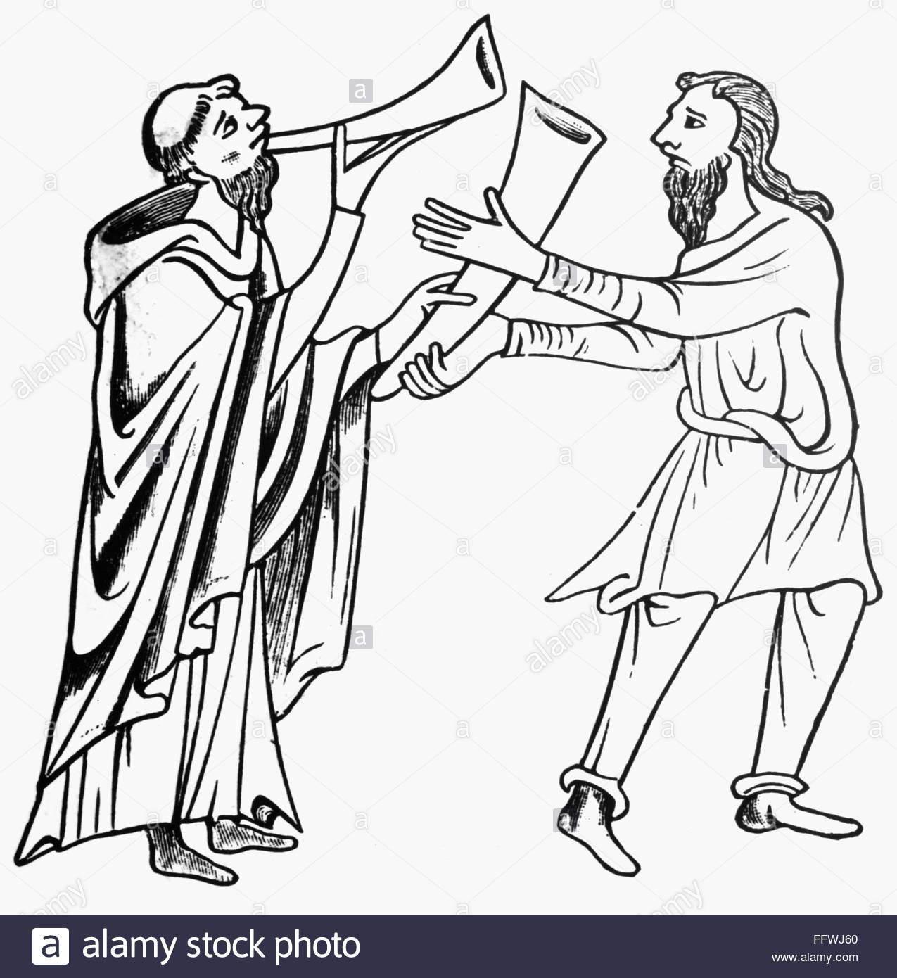 1275x1390 Saint Patrick's Horn. Nthe Legend Of An Irish Beggar Who Carried