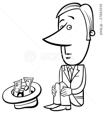 410x450 Drawing Cartoon Beggar Man Photos
