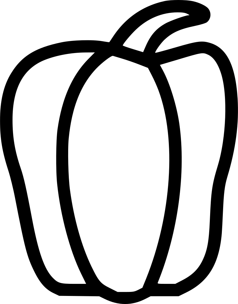 768x980 Vegetables Capsicum Bell Pepper Paprika Svg Png Icon Free Download