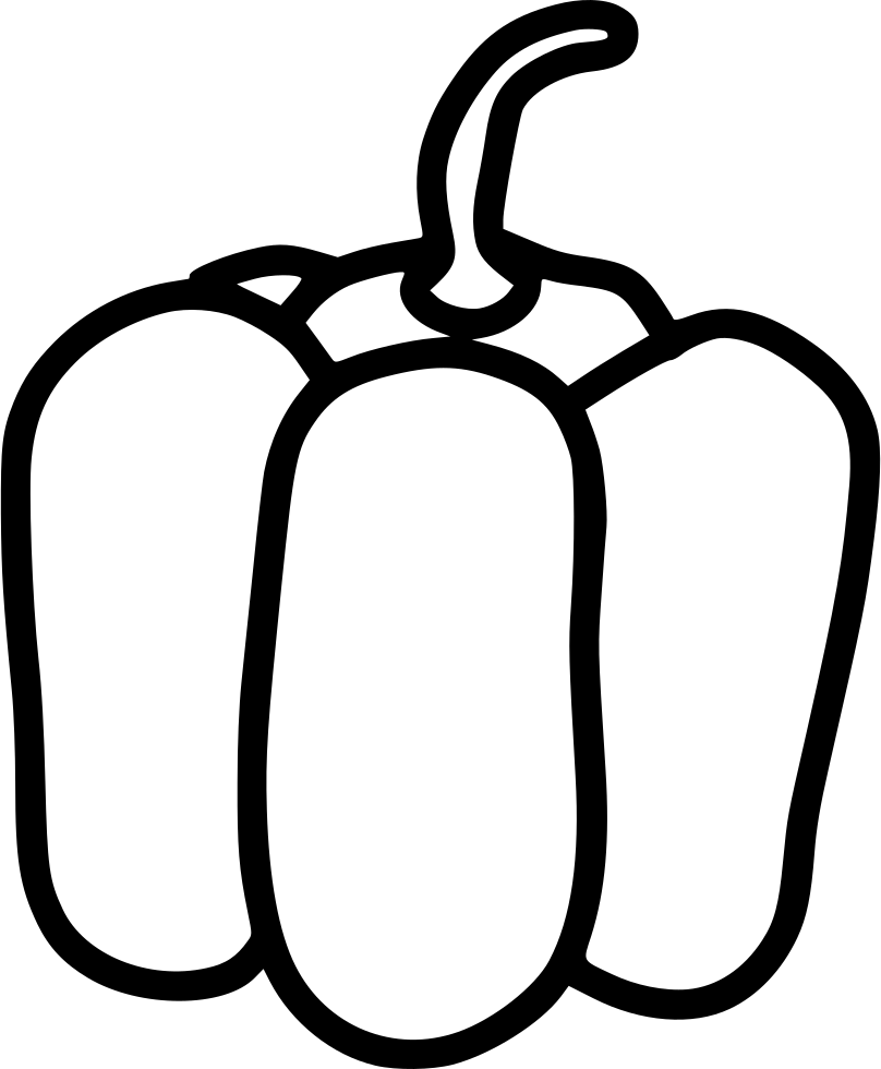 808x980 Bell Pepper Svg Png Icon Free Download ( 480012)