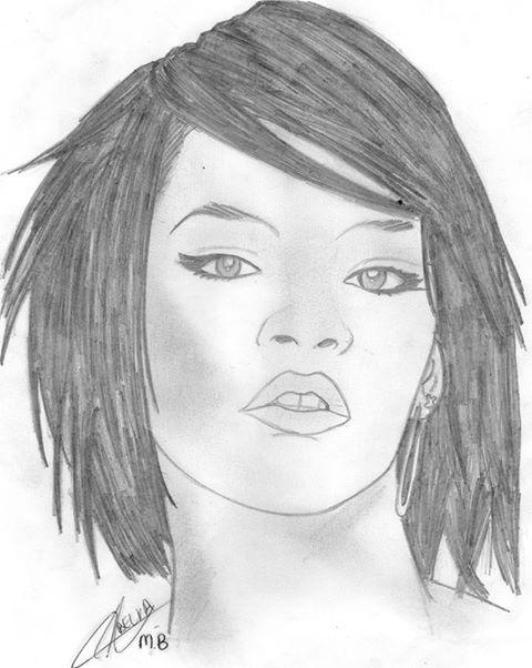 480x602 Portrait Of Rihanna By Bella On Stars Portraits