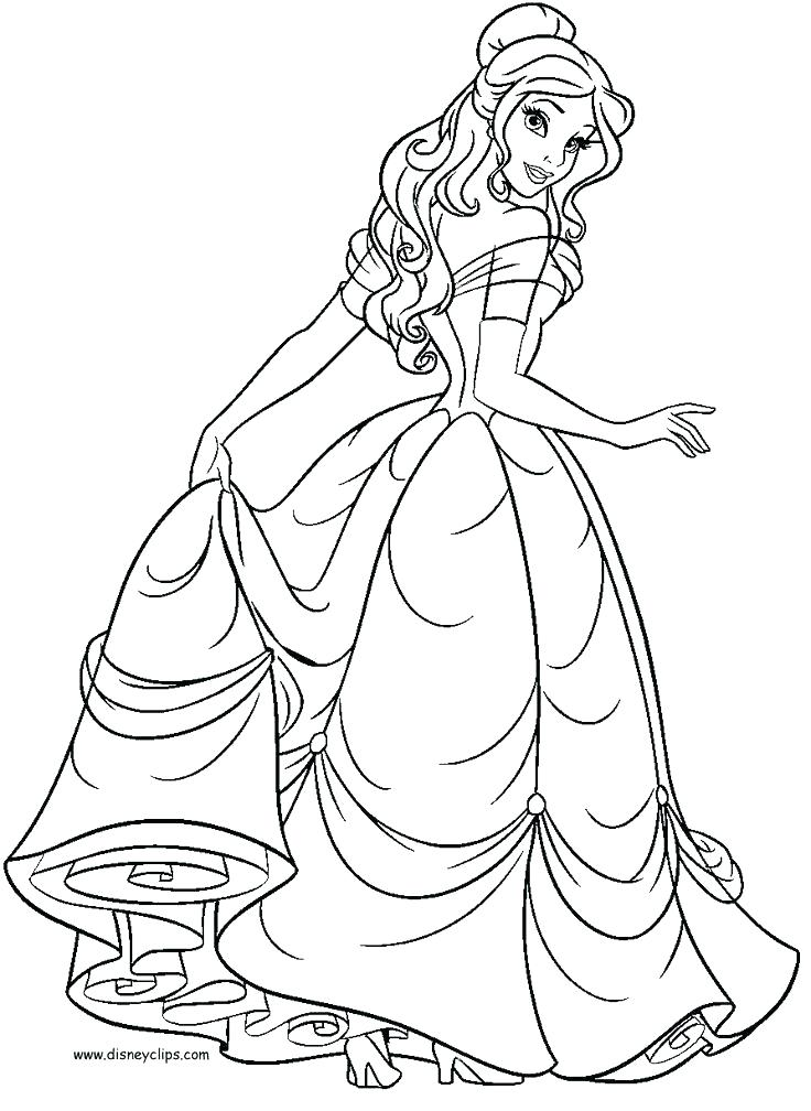736x1008 Coloring Pages Belle Belle Reading Books Princess Coloring Pages