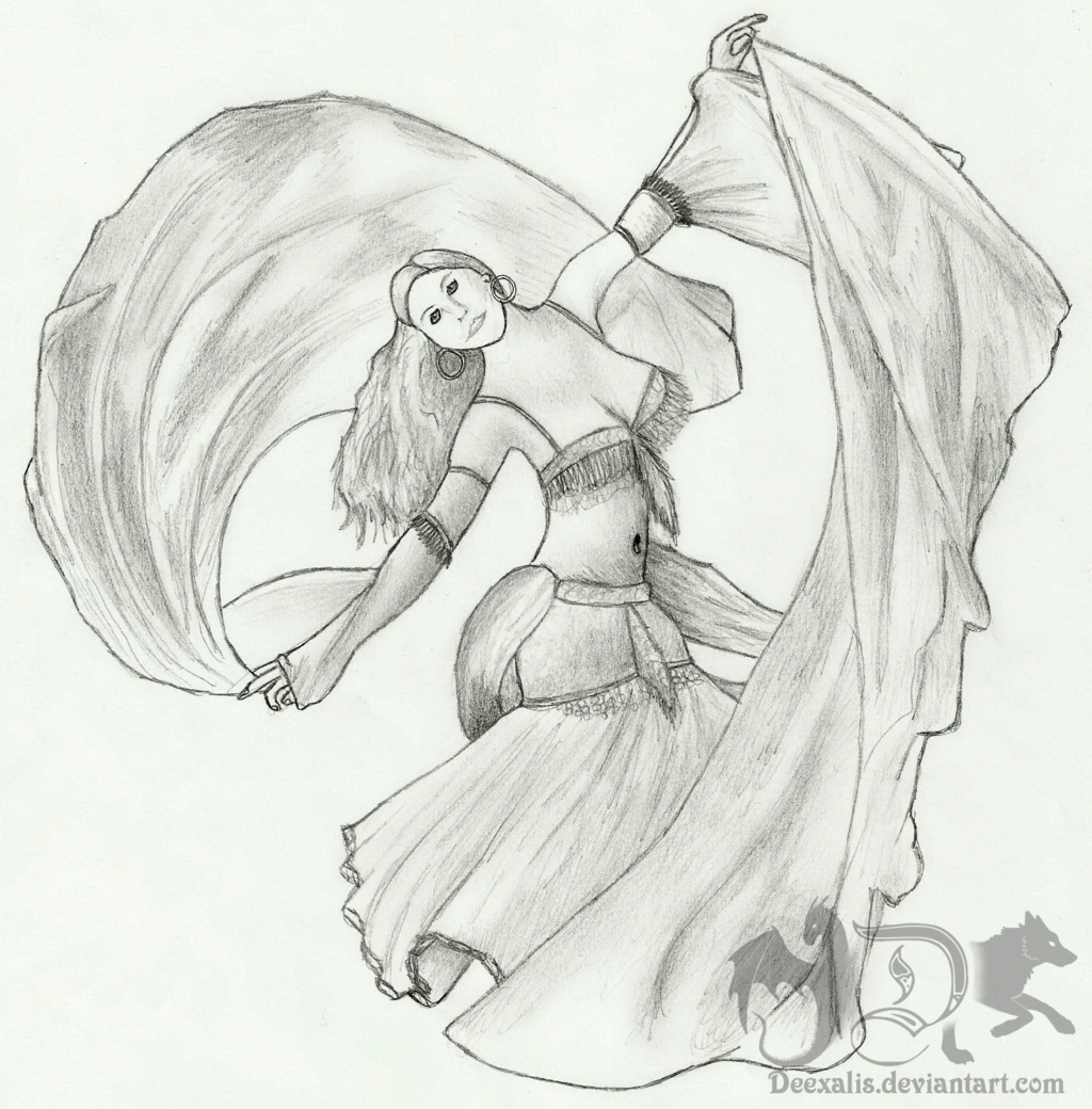 1024x1040 The Belly Dancer By Deexalis
