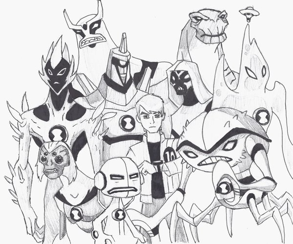 600x499 Ben 10 Alien Force