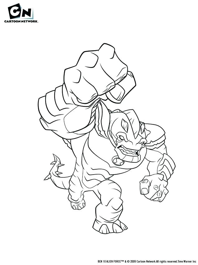 636x850 Aliens Coloring Pages