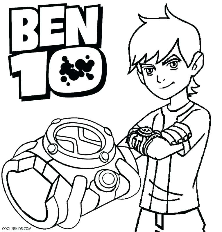 764x800 Amazing Ben 10 Coloring Pages 77 On Crayola Photo