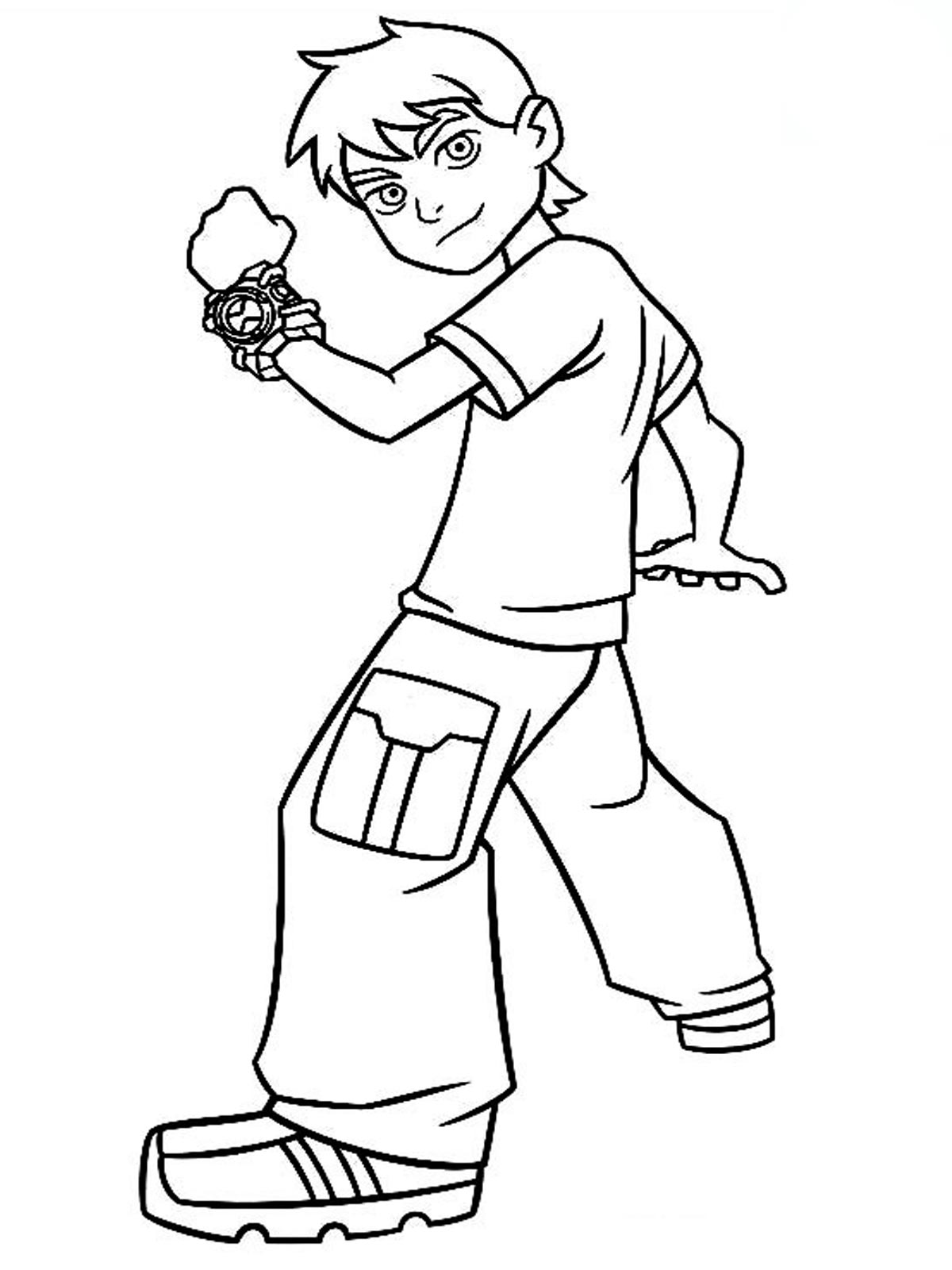 Ben 10 Drawing Step By Step at GetDrawings com   Free for