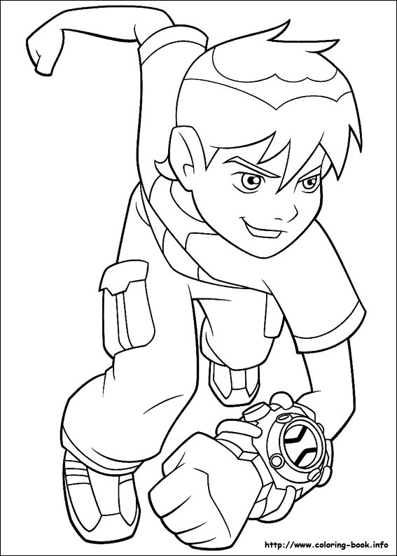 Ben Ten Drawing