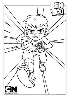 coloring pages ben 10 drawing pictures | Ben Ten Drawing at GetDrawings.com | Free for personal use ...