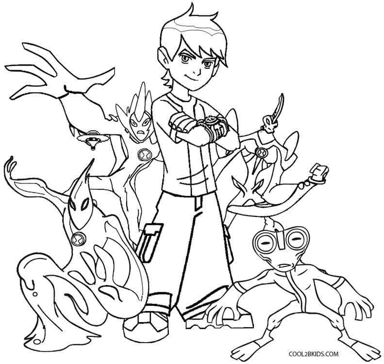 791x750 Unique Ben 10 Coloring Pages 57 With Additional