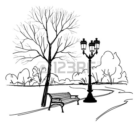 450x449 Park Bench Stock Photos. Royalty Free Business Images