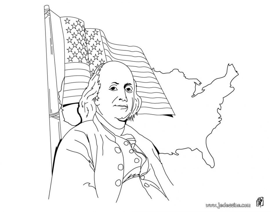 coloring pages ben franklin - photo#16
