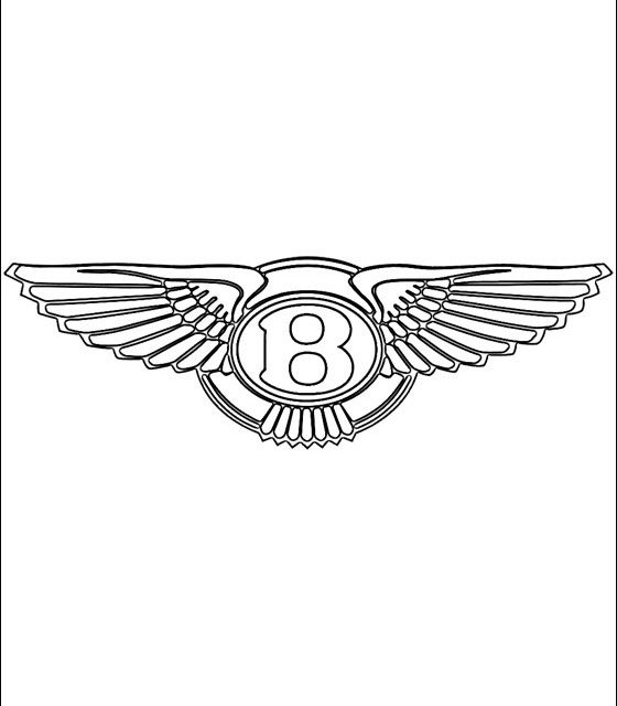 560x640 Coloring Pages Bentley