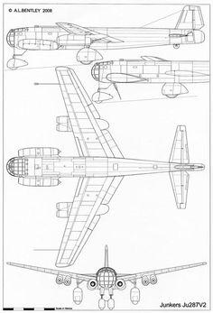 236x347 Ju.287v 1 Junkers Ju 287