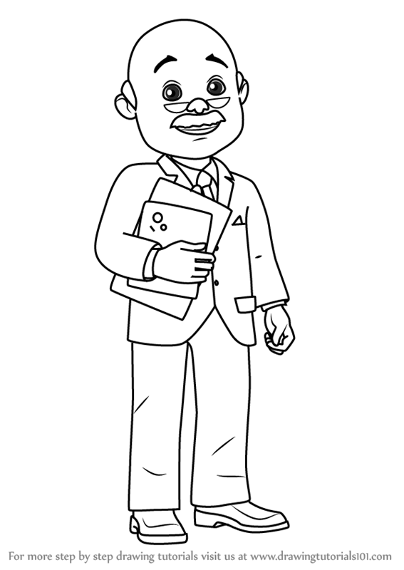 567x800 Learn How To Draw Mr. Bentley From Bob Builder 2015 (Bob