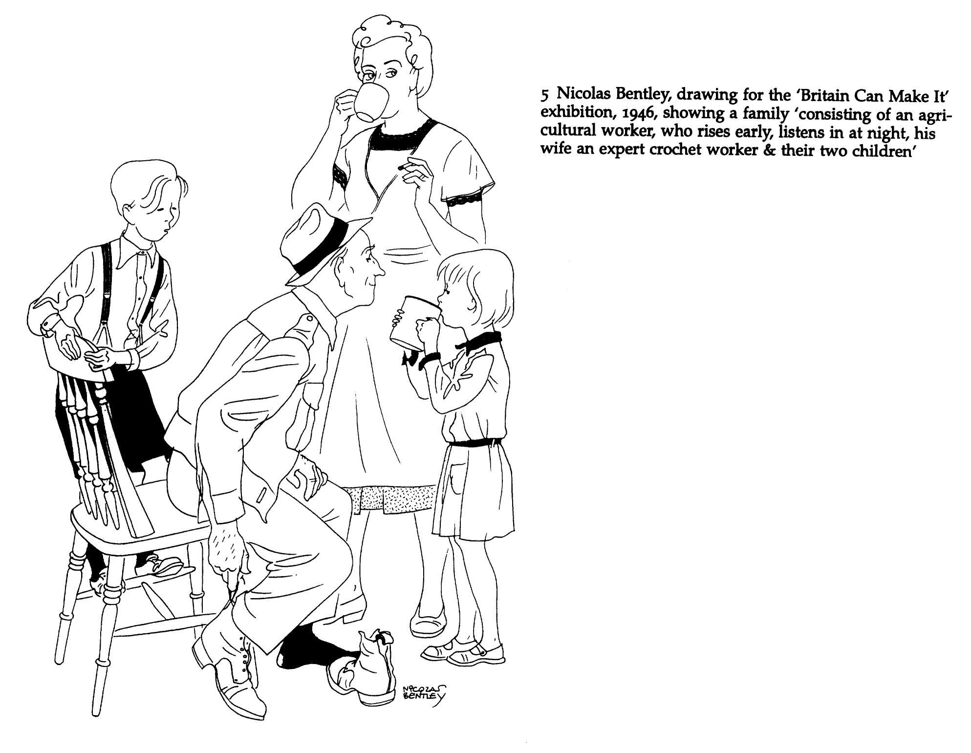 1987x1541 Britain Can Make It Drawing. Nicolas Bentley