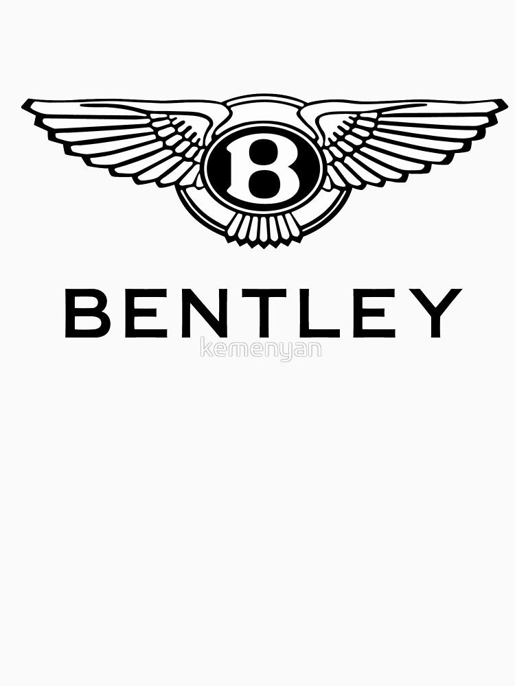 750x1000 Bentley Unisex T Shirt By Kemenyan Redbubble