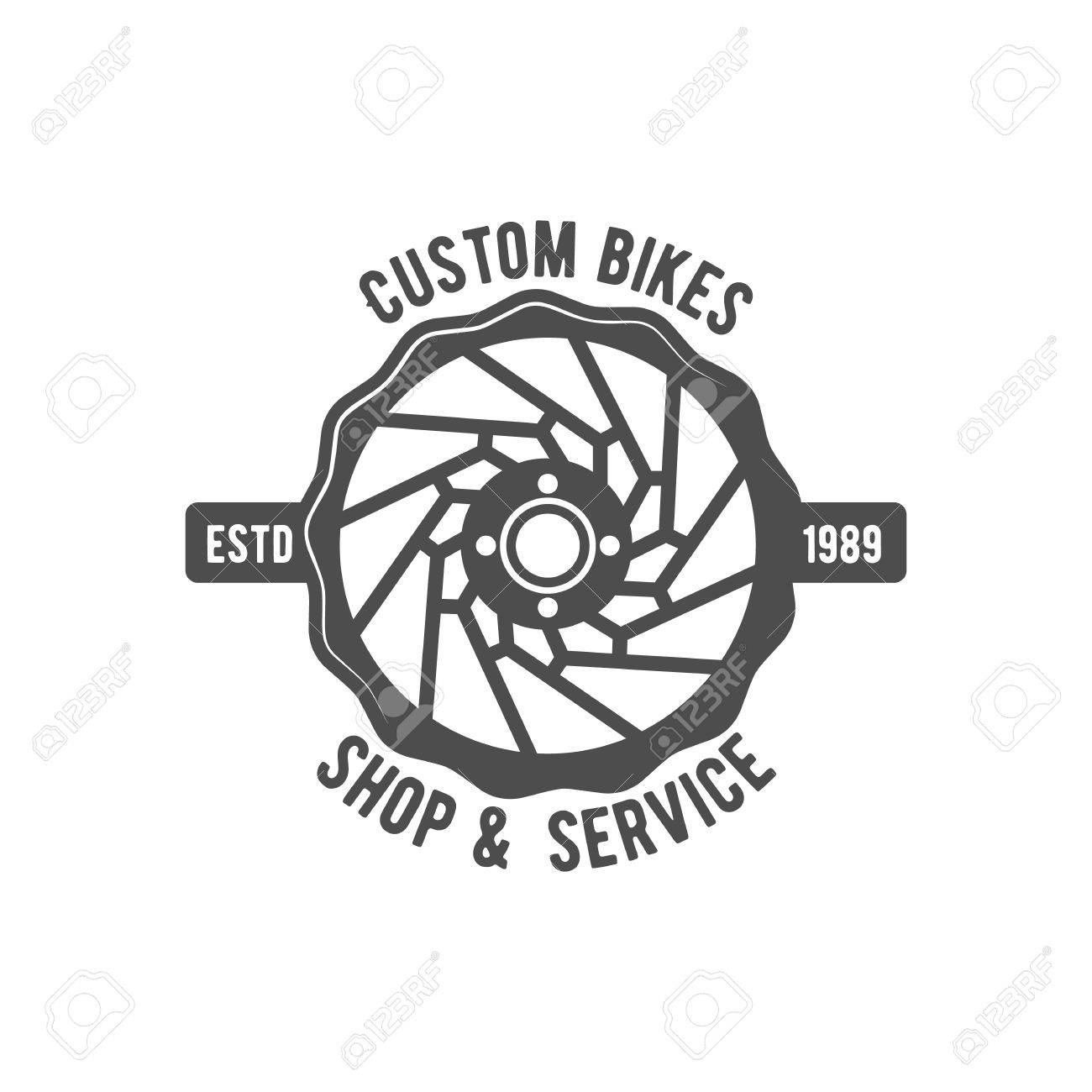 1300x1300 Vintage And Modern Bicycle Logo, Badge, Label And Design Elements