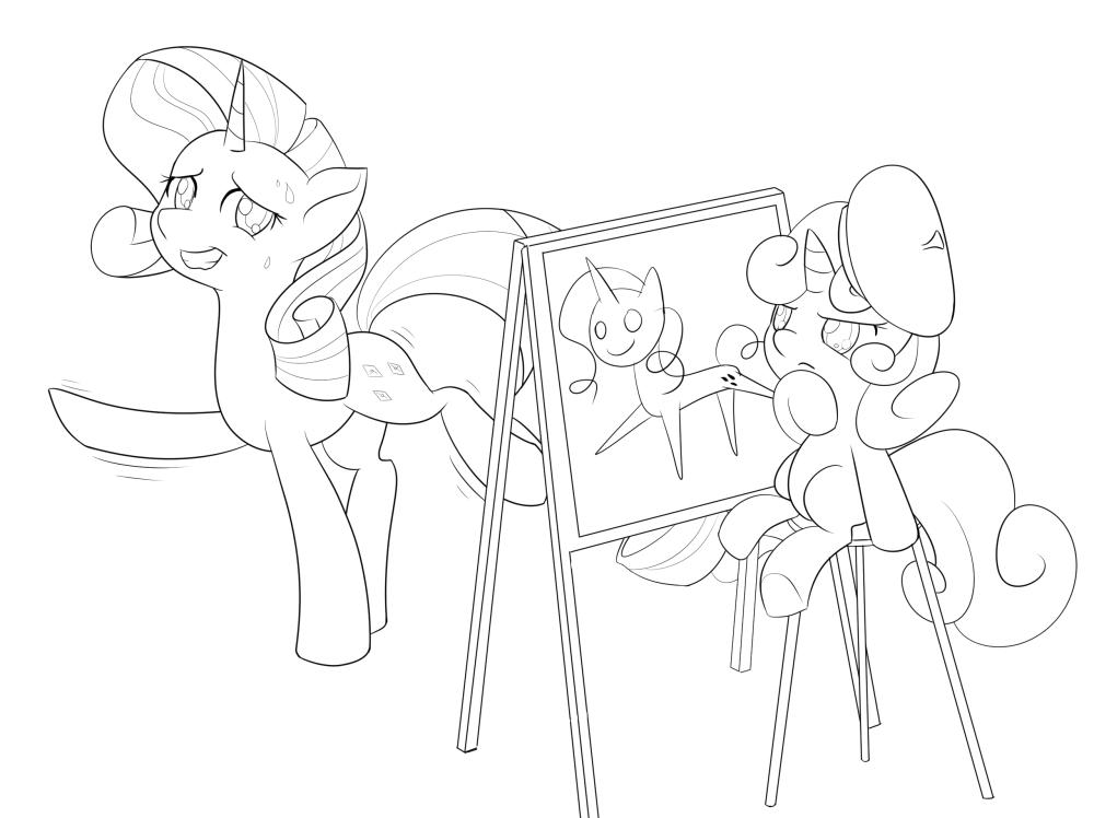 Beret Drawing