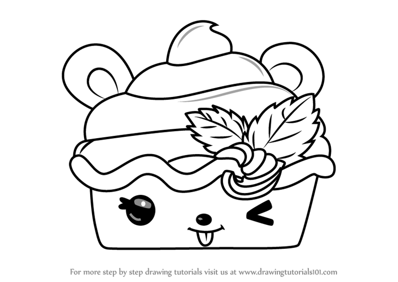 800x567 Learn How To Draw Berry Froyo From Num Noms (Num Noms) Step By