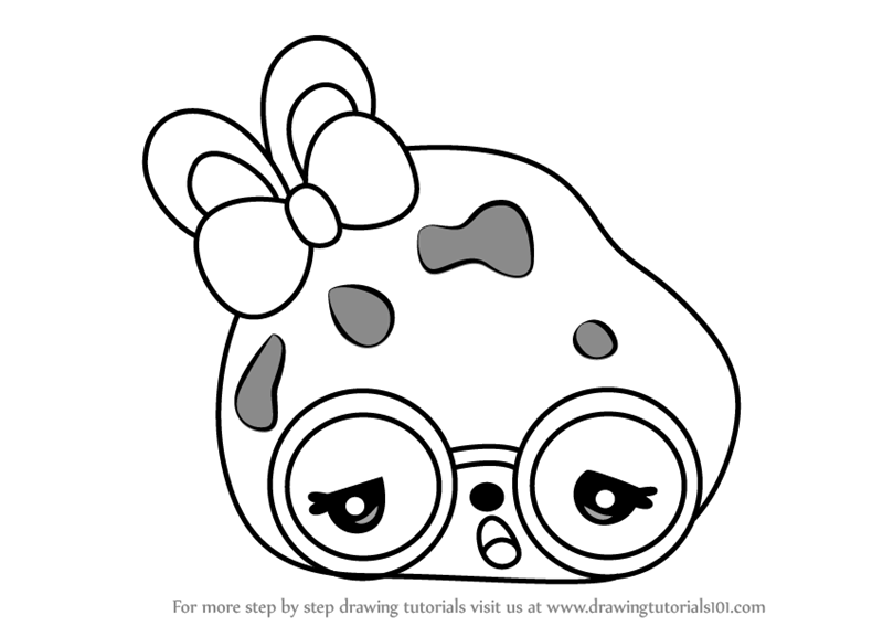 800x567 Learn How To Draw Cream Berry Jelly From Num Noms (Num Noms) Step