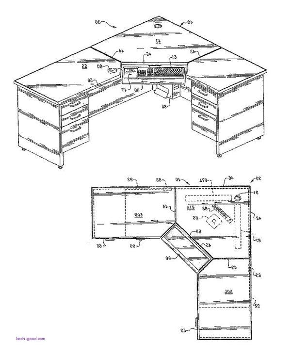 600x736 Computer Desk Plans For Computer Desk Beautiful Best 25 Desk