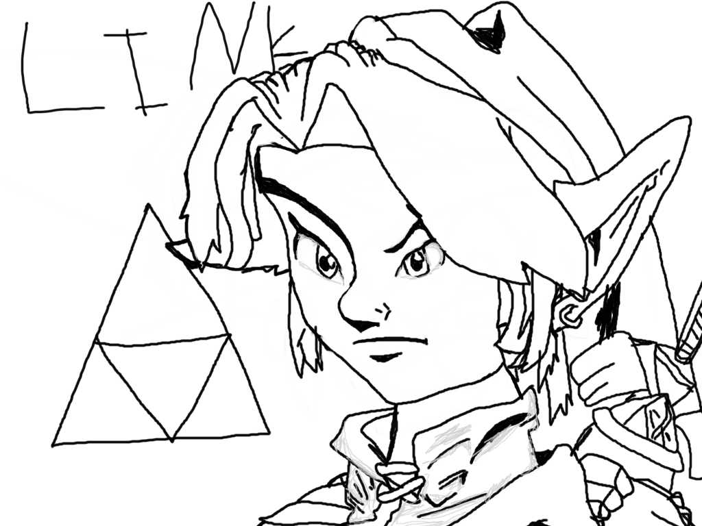 1024x768 Link, My Best Computer Drawing So Far! By Supereric53