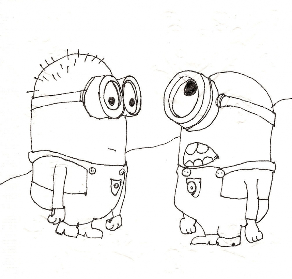 1024x979 Cool Drawings For Kids Bestofpicture Images Images Of Cool