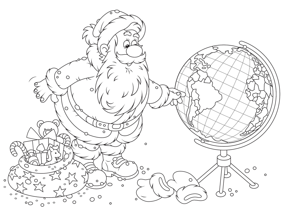960x720 Holidays Around The World Coloring Pages