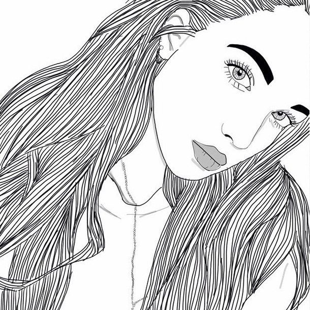 610x609 64 Best Drawings ( Black Amp White ) Images On Girl