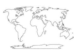 236x181 Blank World Map Best Photos Of Printable Maps Political