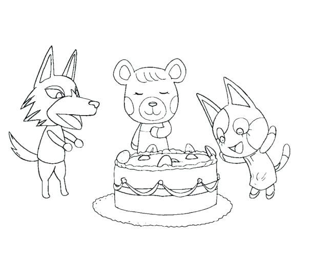 615x512 Cool Animal Crossing Coloring Pages Best Of On World