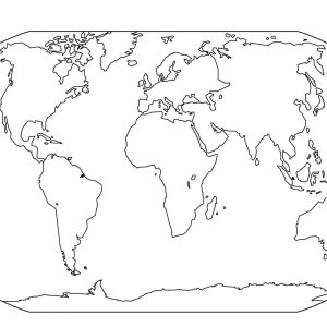 300x300 Drawing A World Map Best Of Map The World Drawing Drawing World